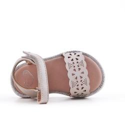 Sandal girl in leatherette