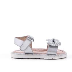 Sandale fille à nœud