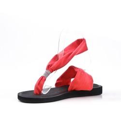 Fuchsia sandal
