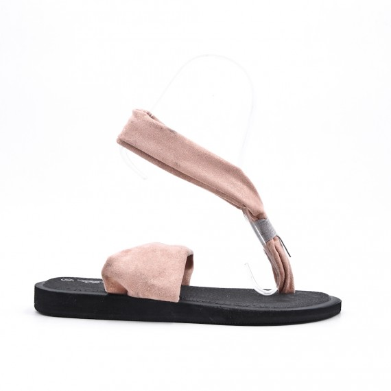 Sandalia rosa