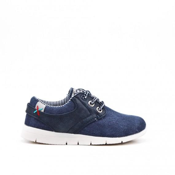 Zapato niño jean azul oscurocon encaje