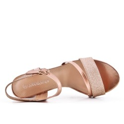 Champange high heel sandal