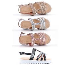 Girl's rhinestone slipper
