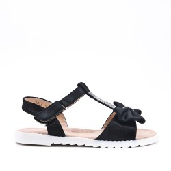 Sandal girl with bow