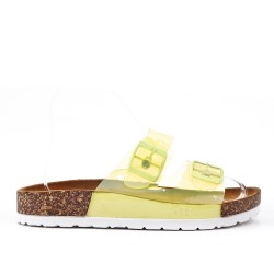 Yellow Tong with comfort sole