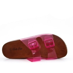 Fuchsia Tong with comfort sole