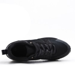 Basket de cordones negro
