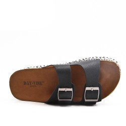 Available in 6 colors - Plate with buckle