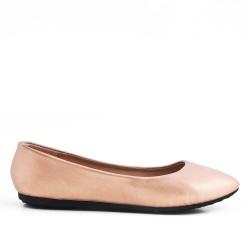 Disponible en 7 couleurs -Chaussure confort en simili cuir