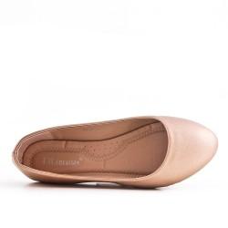 Disponible en 7 colores - Zapato confort de piel sintética