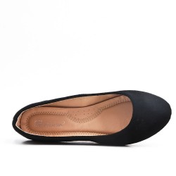 Disponible en 8 couleurs - Ballerine simili daim
