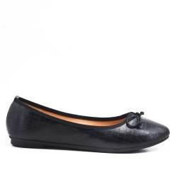 Available in 6 colors - Ballerina with bow