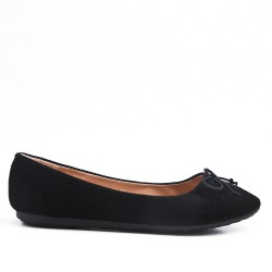 Disponible en 7 colores Faux - Suede Ballerina