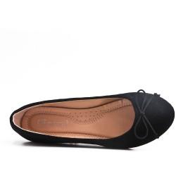 Disponible en 7 colores Faux - Suede Ballerina