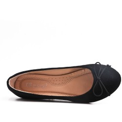 Disponible en 7 couleurs - Ballerine simili daim