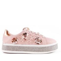Pink flowered tennis
