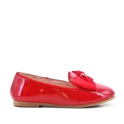 Red girl ballerina in node varnish