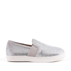 Silver sequined girl's tennis