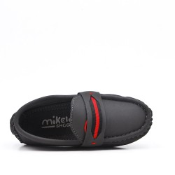 Gray mocassin child moccasin