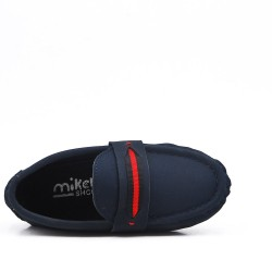 Blue mocassin child moccasin