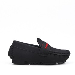 Black mocassin child moccasin
