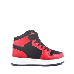 Children's scratch high top sneaker