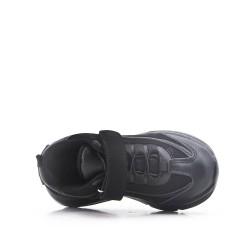 Canasta infantil negro con rasguño