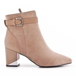 Woman's boot in fabric