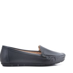 Moccasin imitation leather