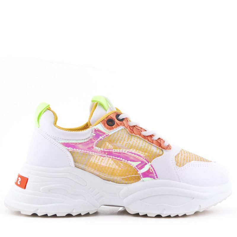WHOLESALE SHOES-lace-up sneakers with