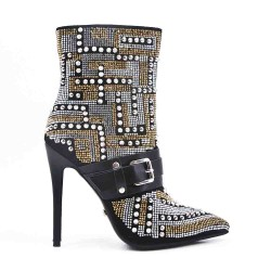 Ankle Boot with Stiletto Heel