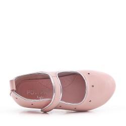 Bailarina para niña en piel sintética