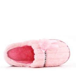 Zapatilla de piel de invierno