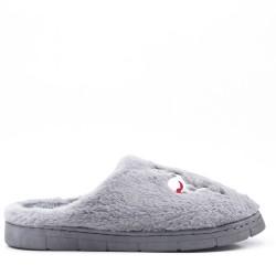 Winter fur slipper