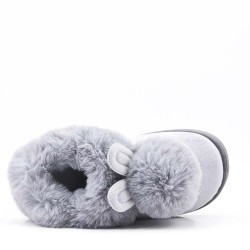 Claquette hiver en fourrure