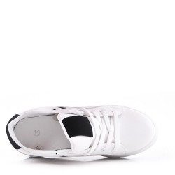 Zapatillas con tacón interior de 6 cm