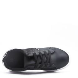 Baskets avec talon intérieur de 6 cm