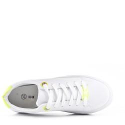 Zapato con encaje