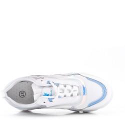 Baloncesto azul con suela compuesta