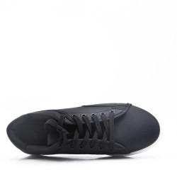 Basket à lacet noir