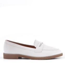 Zapato oxford para mujer sin encaje en piel sintética