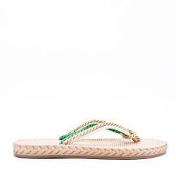 Women's flat flip flops