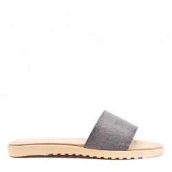 Sandalias de piel sintética