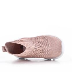 Basket enfant en textile extensible