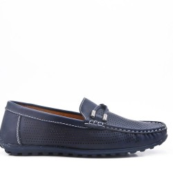 Men's moccasin in faux leather