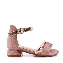Sandale plat pour fille