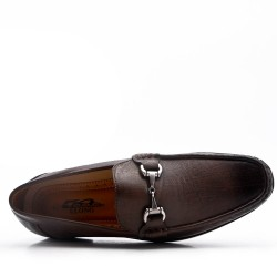 Imitation leather moccasin