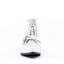 Printemps Été bottines à talons chaussures femme