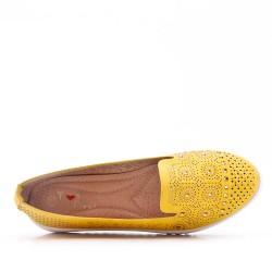 Moccasin imitation leather