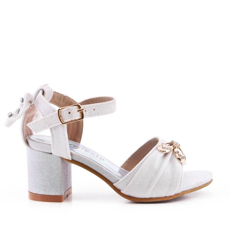 Sandal girl with ruffle